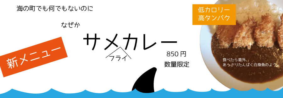 サメカレー